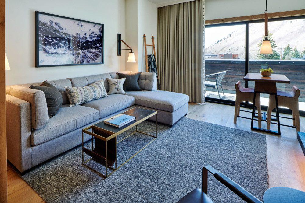 The Cloudveil Suite Living Room Sitting Area