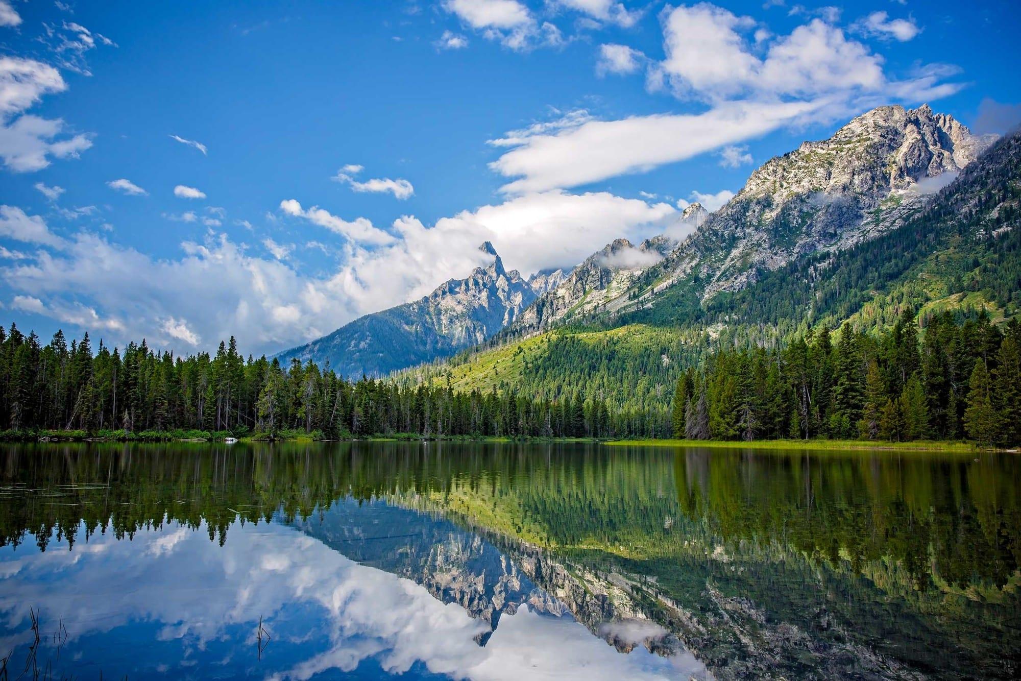 String Lake In Jackson Hole